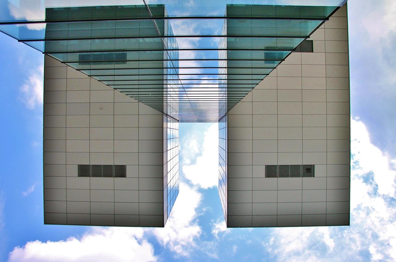 Organizacja przestrzeni – podział szklanymi ściankami